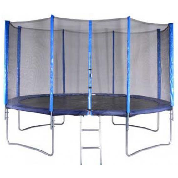 Trampolin V3Tec Set 4 Meter mit Sicherheitsnetz