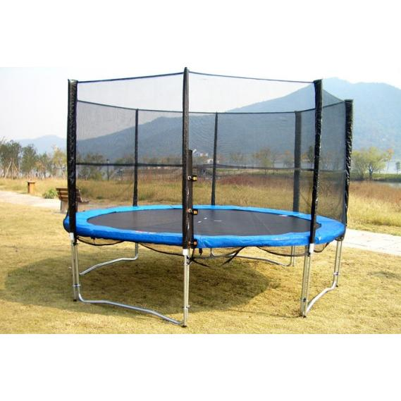 v3 tec trampolin v3tec set 4 meter mit sicherheitsnetz g nstig bei sportsprofi kaufen. Black Bedroom Furniture Sets. Home Design Ideas