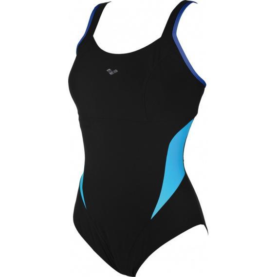 Damen Badeanzug Arena Makimurax schwarz-blau