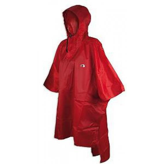 Kinder/Jugend Regenponcho Tatonka rot