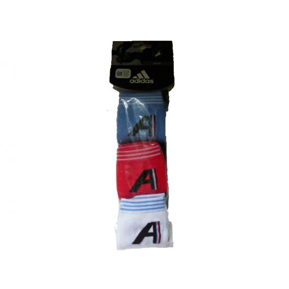Jugendsocke Adidas 3 Paar mehrfärbig