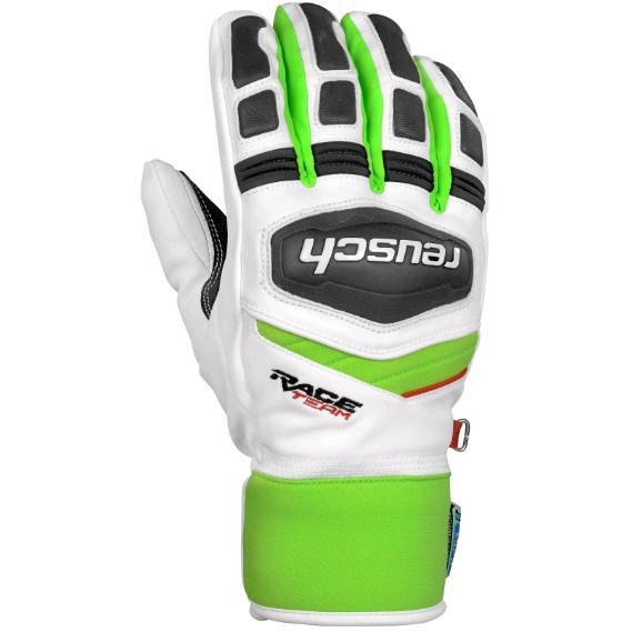 529dd87ba966a Reusch Men ski gloves Reusch Training R-Tex XT white/neon green ...