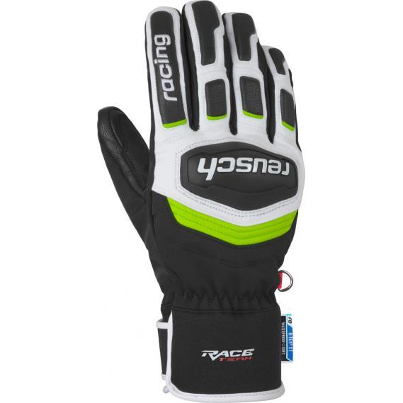 9e9aa24c38f07 Reusch Men ski gloves Reusch Race Training R-Tex XT black-white-neo ...