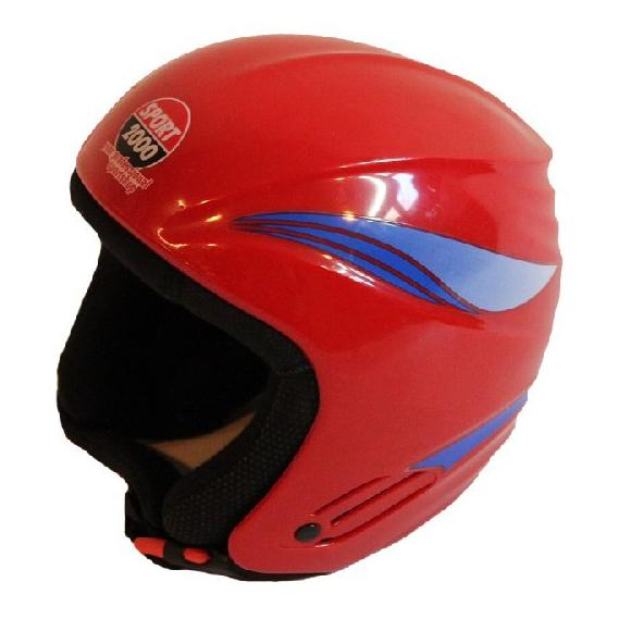 Gebrauchter Skihelm Sport 2000 52cm rot