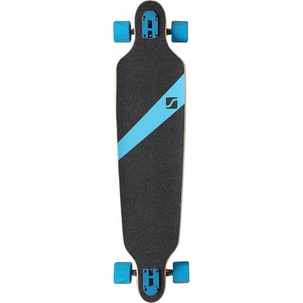 stuf longboard stuf glider 41 39 39 schwarz blau wei. Black Bedroom Furniture Sets. Home Design Ideas