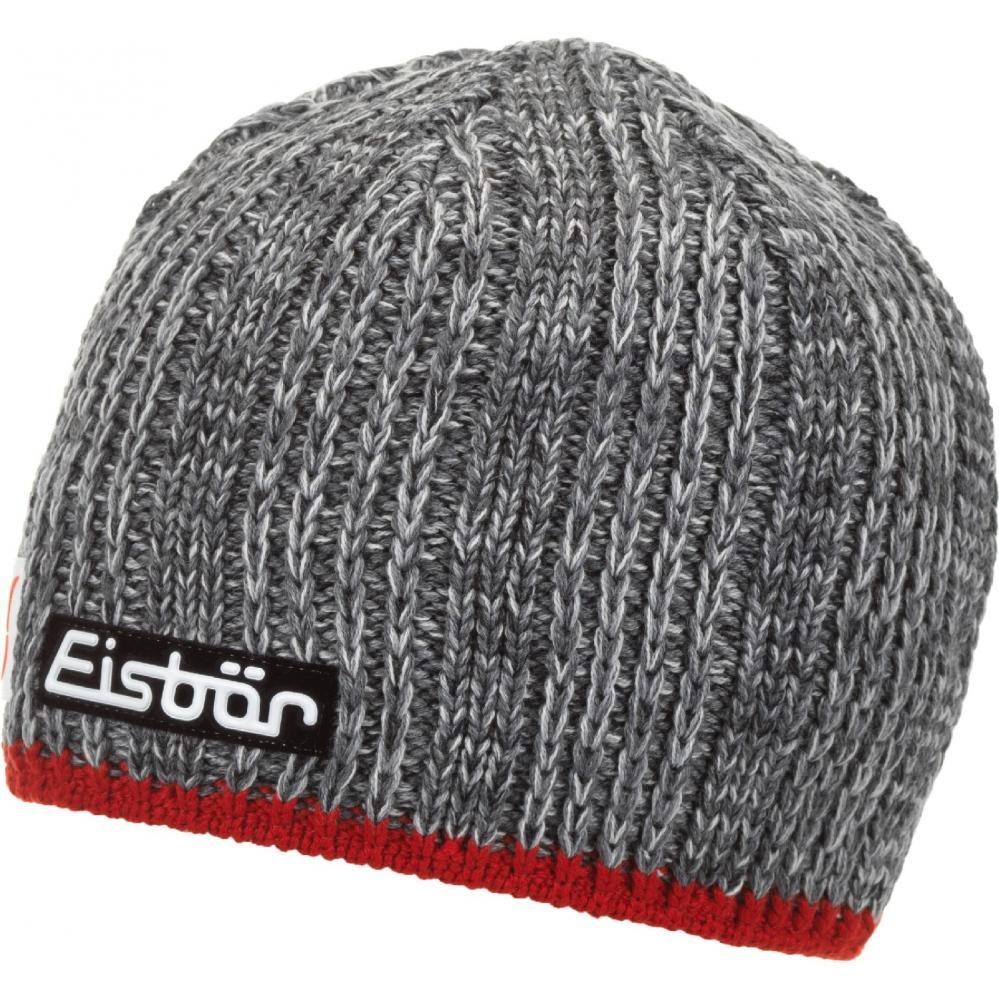 ca020705647 Eisbär Cap Eisbär Rene XL Skipool grey-red