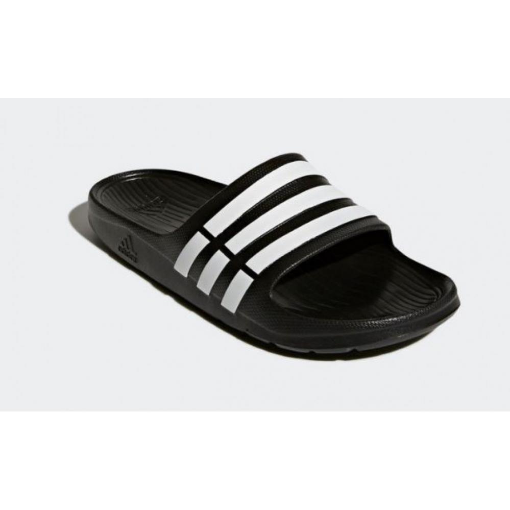Renunciar Saliente perturbación  Adidas Men beach sandals Adidas Pantolette Duramo Slide black | buy at  Sportsprofi
