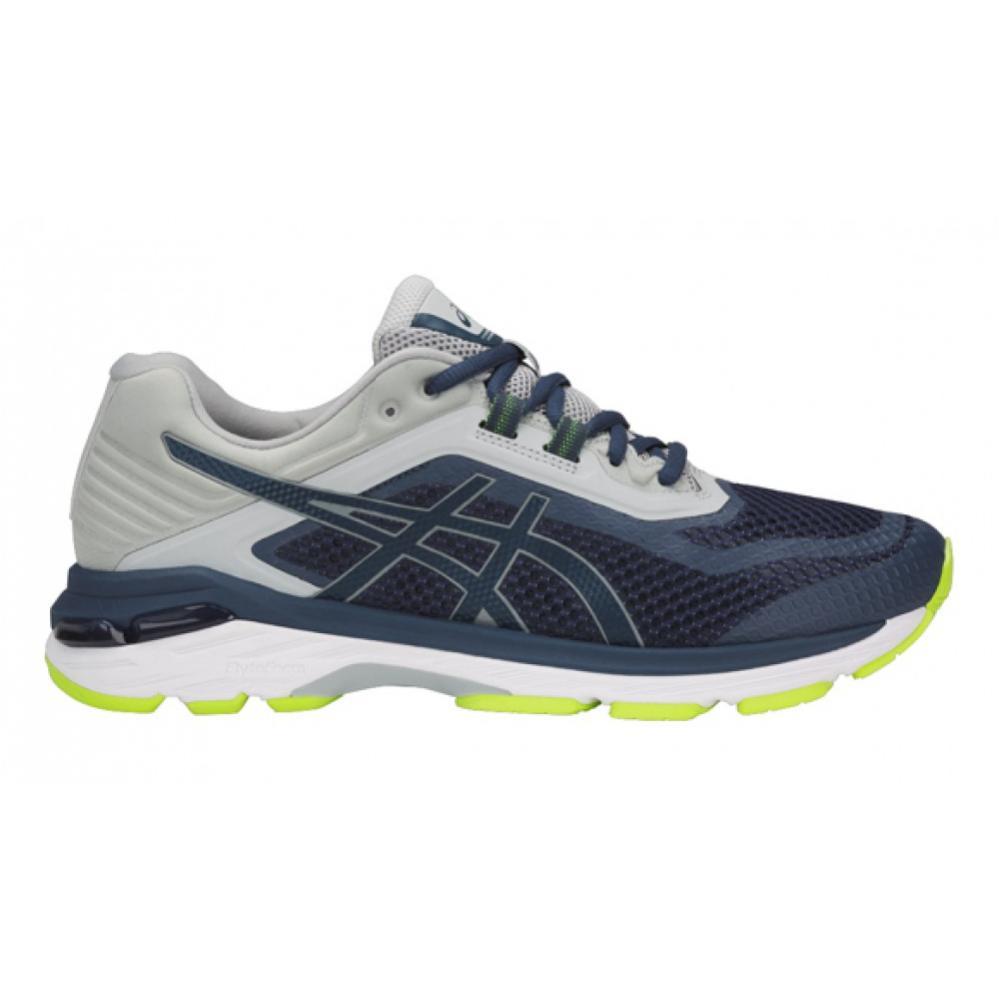 Men running shoes Asics GT-2000 6 blue-grey