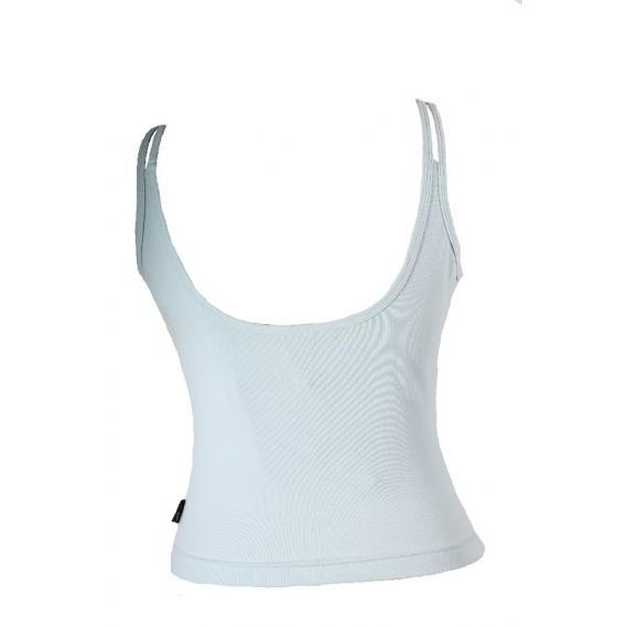 Damen Fitnesstop Adidas 3 Streifen