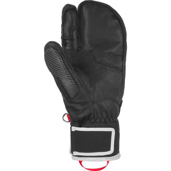 44a1a8e8310cc Reusch Men ski mittens Reusch Race-Tec 18 Pro Lobster black-white-n ...