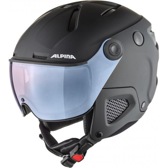 Skihelm Alpina Attelas Visor QVM