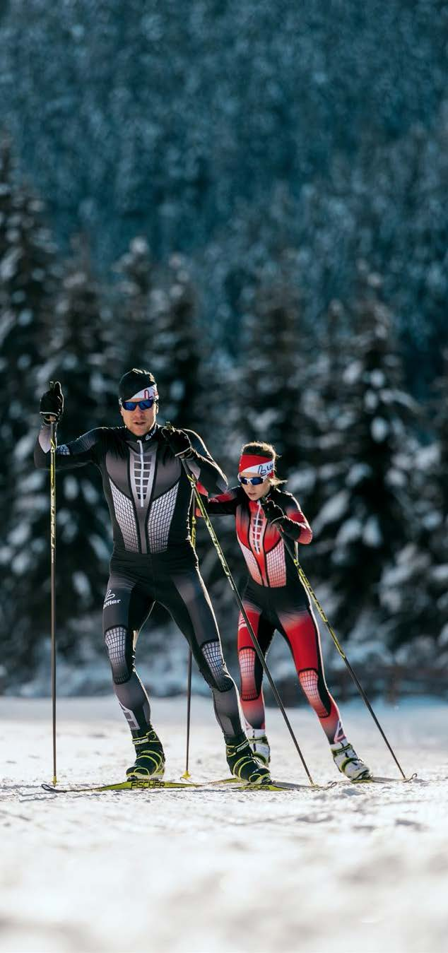 Tyrol. Obertilliach. Cross Country Skiing © Claudia Ziegler